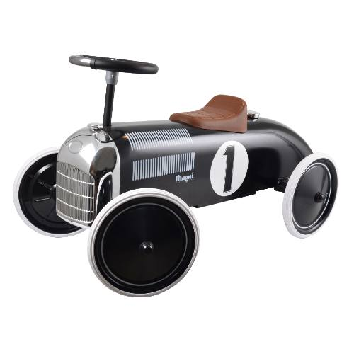 Magni Black Mini Speeder Car for Children