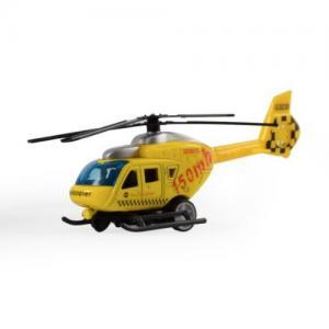 Magni Helikopter City Med Pullback Gul