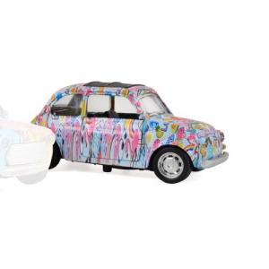 Magni Metal Car Pullback Mini Cooper Pop Culture