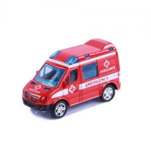 Magni Pull-back Fordon Ambulans Röd