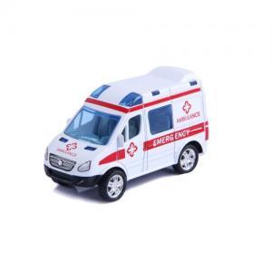 Magni Pull-back Fordon Ambulans Vit