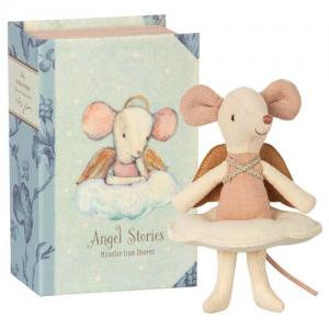 Maileg Angel Mouse In Box