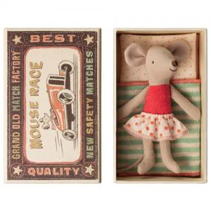 Maileg Baby Little sister mouse In Box