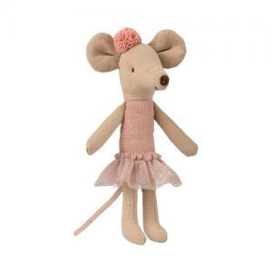 Maileg Ballerina Mouse Big Sister Med Tofs