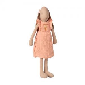 Maileg Bunny Size 3 Dress - Rose Klänning Glass