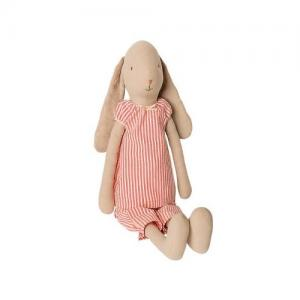 Maileg Bunny Size 4 Night Suit Randig