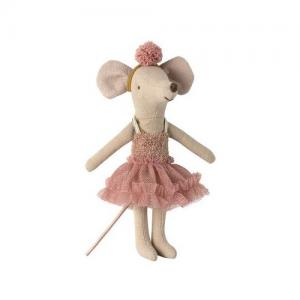Maileg Dance Mouse, Big Sister - Rosa - Mira Belle