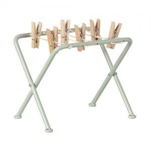 Maileg Drying Rack w. Pegs Tvättlina