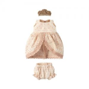 Maileg Micro & Mouse Princess dress - Rose