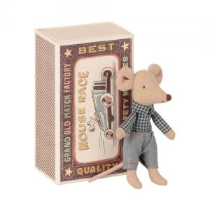 Maileg Mus Little Brother Mouse In Matchbox