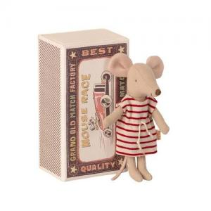 Maileg Mus Mouse Big Sister In Matchbox