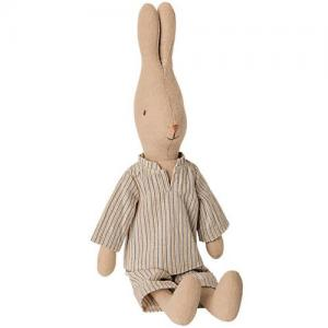 Maileg Rabbit Size 2 - Randig Pyjamas