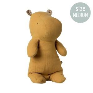 Maileg Safari Friends Medium Hippo Dusty Yellow