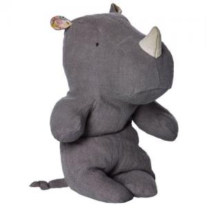 Maileg Safari Friends Small Hippo Rhino Grey