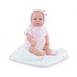 Marina & Pau Doll Sweet Baby Pink With Blanket & Pacifier