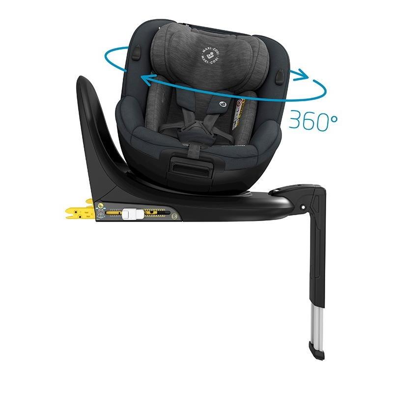 Maxi-Cosi Mica Authentic Graphite Rotating Toddler Car Seat