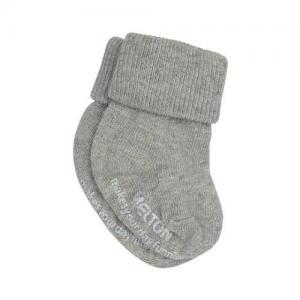 Melton Socks 1-pack 13/14 0M-1M Grey Melange Premature