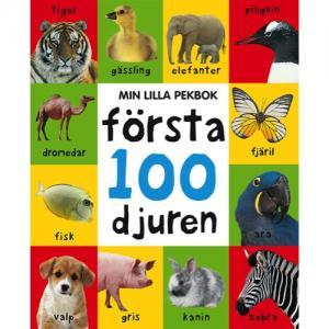 MIn Lilla Pekbok - Första 100 Djuren Bok