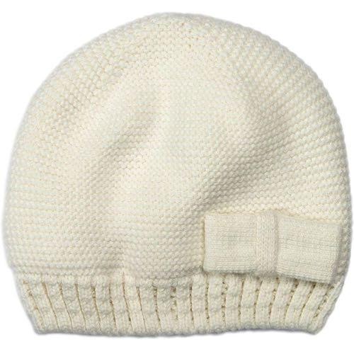 Mini Dreams Babymössa Off-White med Fleece 3-6 mån