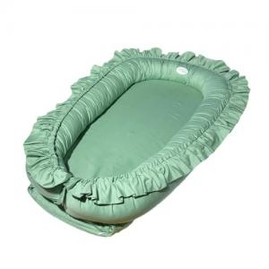 Mini Dreams Babynest med Volang Green