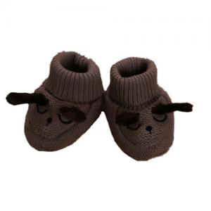 Mini Dreams Baby Slippers One Size Brown