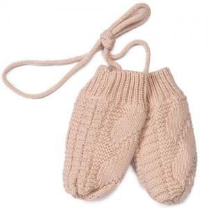 Mini Dreams Baby Mittens Lined Pink 0-12 Months