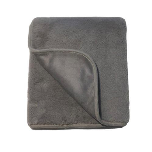 Mini Dreams Blanket Fluffy Dark Grey