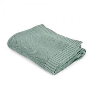 Mini Dreams Filt Knitted Blanket Vintage Green