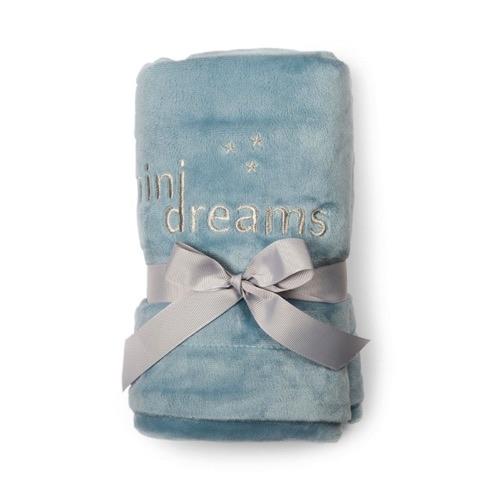 Mini Dreams Filt Soft Blanket Blå