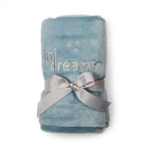 Mini Dreams Filt Soft Blanket Blå
