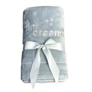 Mini Dreams Filt Soft Blanket Grå 75x100 cm