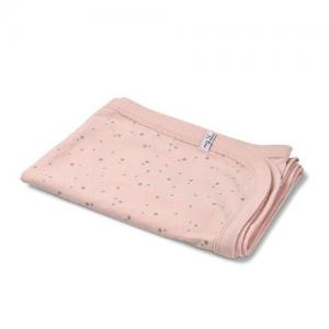 Mini Dreams Blanket Star Jersey Pink