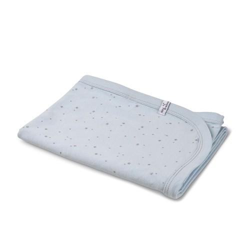 Mini Dreams Blanket Star Jersey Blue