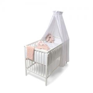 Mini Dreams Bed Sky Canopy - White