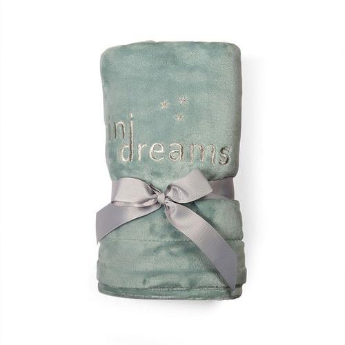 Mini Dreams Filt Soft Blanket Grön