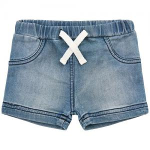 Minymo Shorts Denim With White Drawstrings