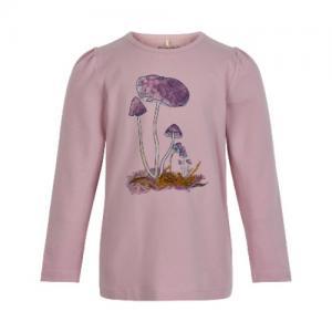 Minymo Tröja Långärmad Ekologisk Svampar Lavendel