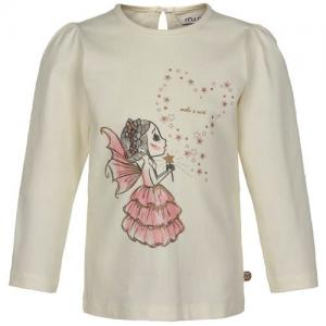 Minymo Sweater White With A Fairy