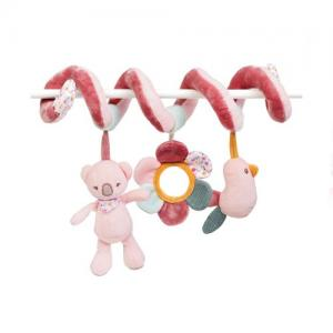 Nattou Toy Spiral Pink - Iris & Lali Collection