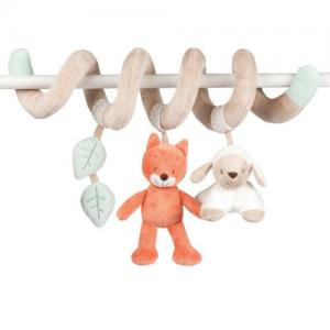 Nattou Activity Toy Spiral for cot bed Orange Fanny & Oscar Collection