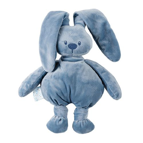 Nattou Lapidou Stuffed Animal Jeans Blue Height 36 cm