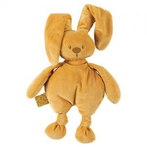 Nattou Lapidou Stuffed Animal Mustard Yellow Height 36 cm