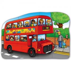 Orchard Toys Little Bus Pussel 2-sidigt 12 Bitar