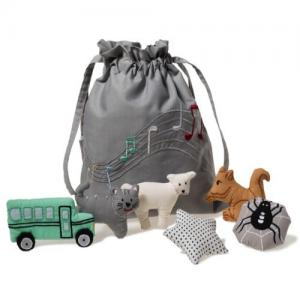 Oskar & Ellen Song bag Gray Swedish New!