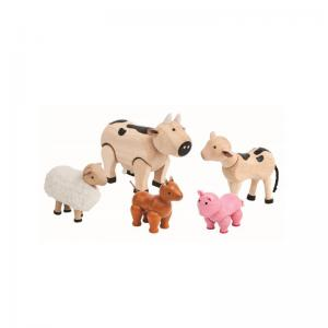 Plan Toys Bondgårdsdjur Ekologisk Farm Animals