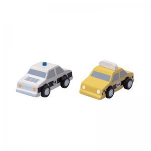 Plan Toys Taxibil & Polisbil Ekologisk