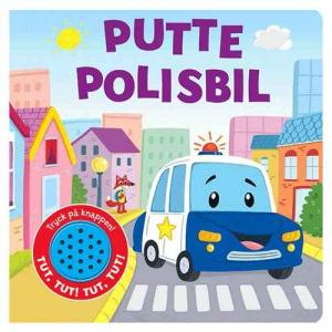Per Olsson Putte Police Car Book (With Sound)