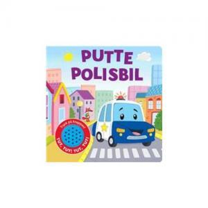 Per Olsson Putte Polisbil Bok (Med Ljud)