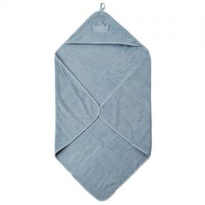 Pippi Bath Cape Light Blue Towel With Cap 83x83cm