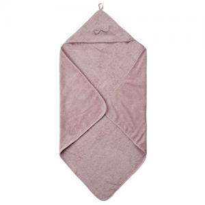 Pippi Bath Cape Violet Towel With Cap 83x83cm